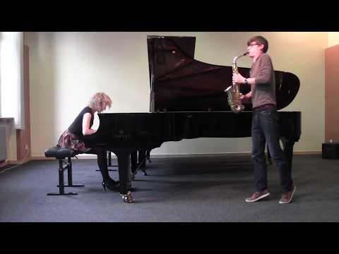 William Albright - Sonata for saxophone and piano (MagDus Duo)