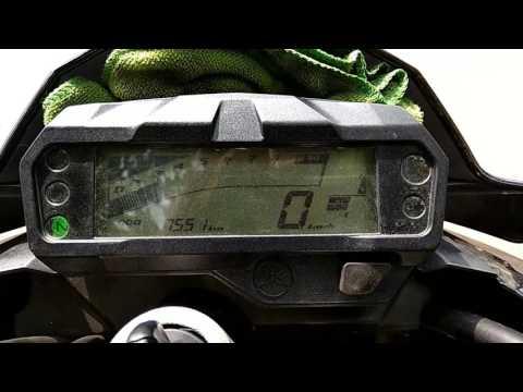 Yamaha fz v2 fuel blinking problems