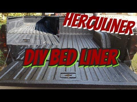 HERCULINER TRUCK BED LINER DIY