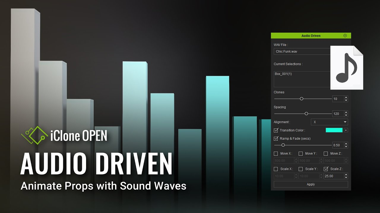 Audio Driven (Sample Script of July) & Script Mod Contest