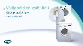 WPRO SKS1 STAPELKIT - Tussenstuk was/droog - Productvideo Vandenborre.be