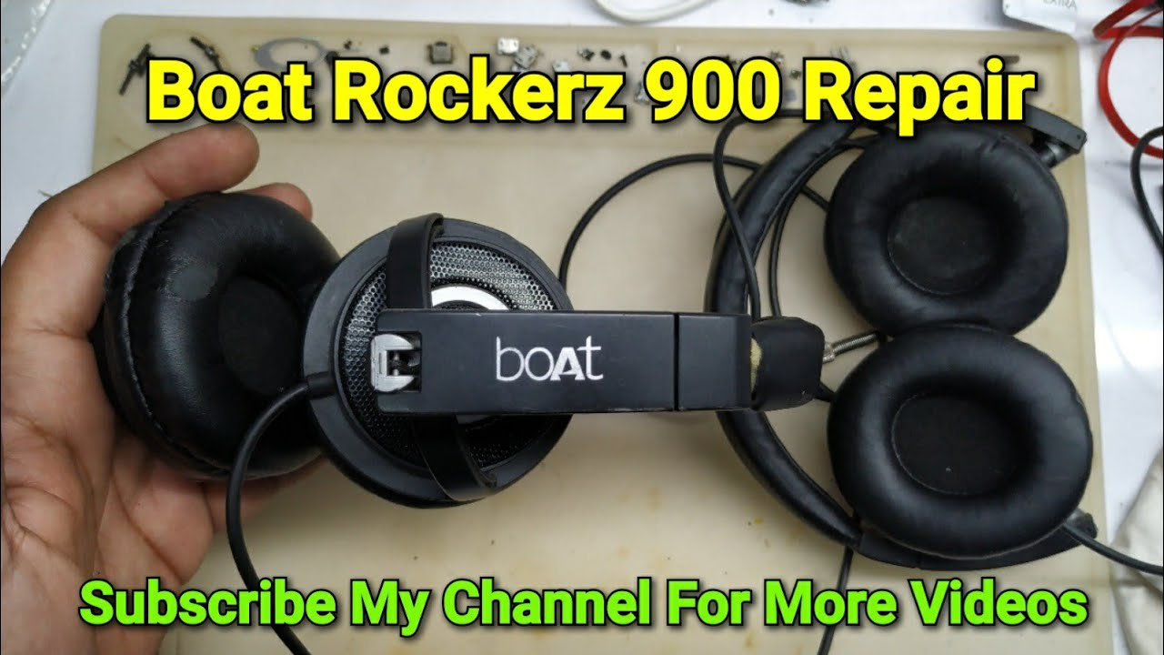 Download Boat Rockerz 900 Headphone Repair One Side Not Working Solved