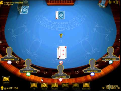 Lucky Samurai - Best Liberty Reserve Casino & LR Casino -  Playing Blackjack