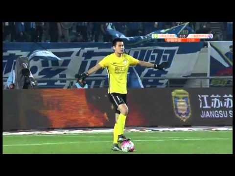 Jiangsu Suning 2 Shensua Shanghai 0. Super Liga China