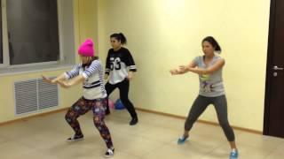 Dancehall female choreography (by Olya BamBitta)//RaD station