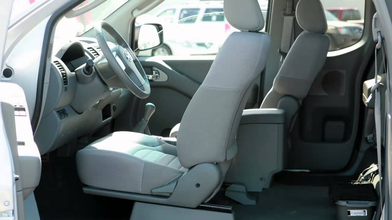 2013 Nissan Frontier Seat Adjustments Youtube