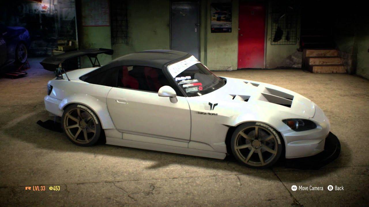 Need For Speed 2015 Honda s2000 Build Teaser