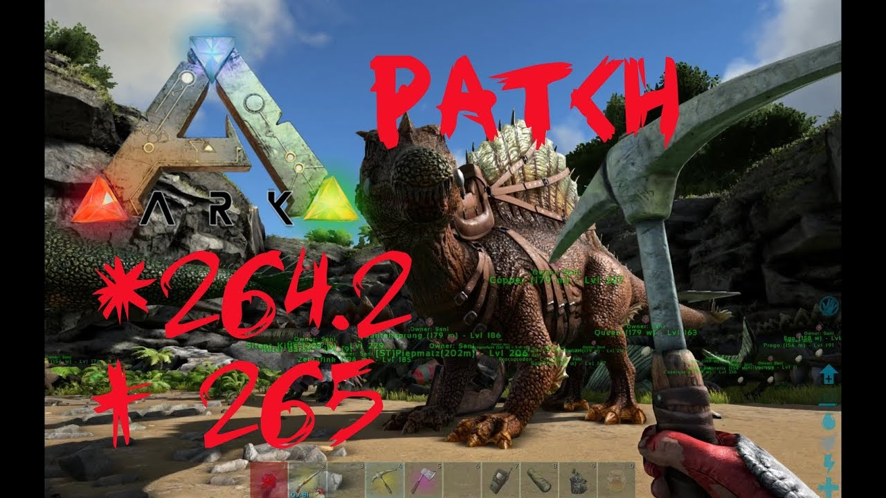 Ark survival evolved patch notes - Ark Survival Evolved Patchnotes 264 2 Bis 265 Z Hmbare Titanboas