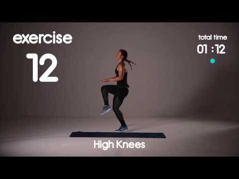 5 min Cardio HIIT Workout for Fat Loss 40s/20s Intervals Home Workouts