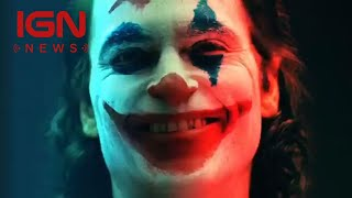 Joker: Todd Phillips Releases Joaquin Phoenix Screen Test - IGN News