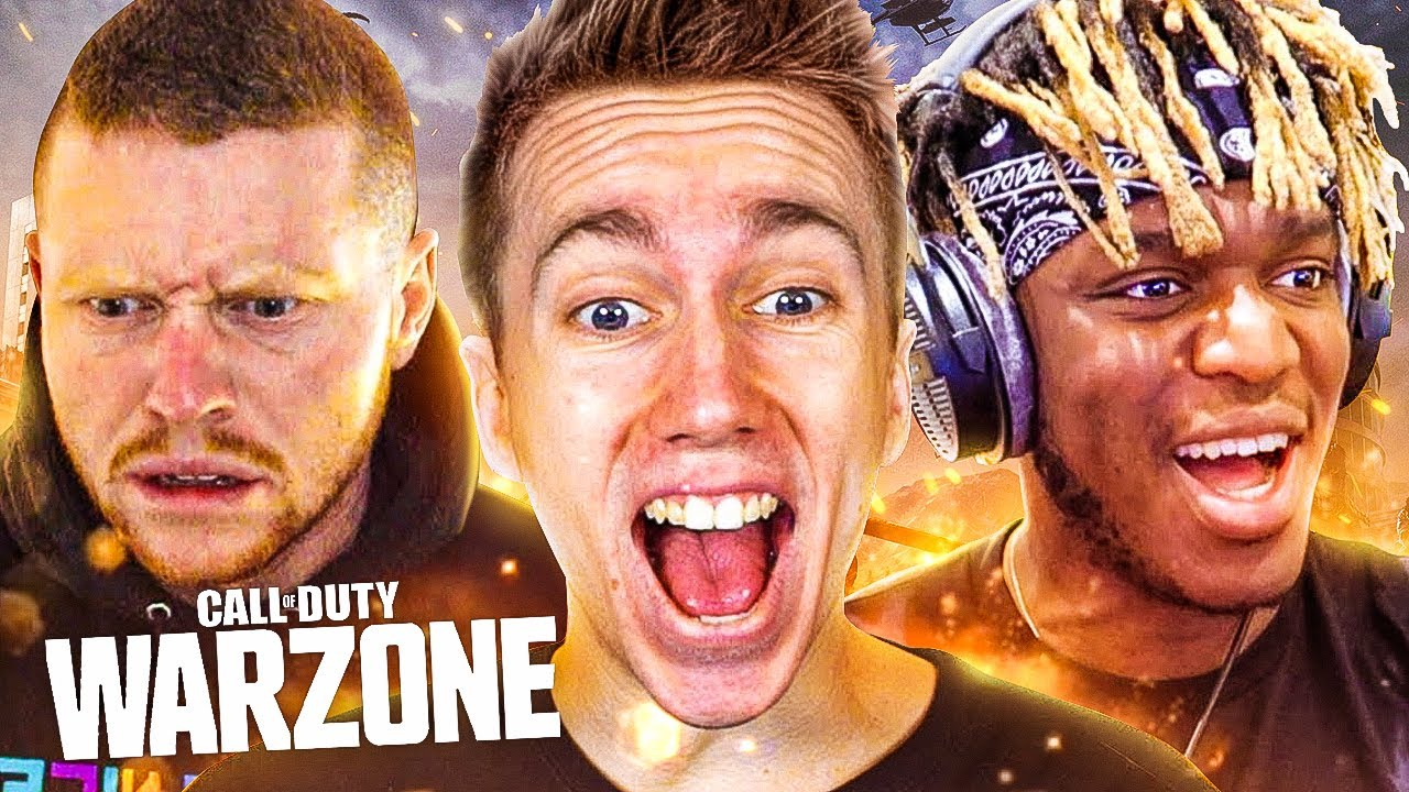 WINNING ON WARZONE With JJ and Ethan (Call of Duty: Modern Warfare Battle Royale)