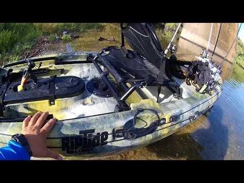 SOLD – Used 14′ Paluski Riptide Kayak (Green & White ... |Riptide Kayak