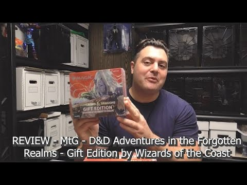 Review - Magic the Gathering - D&D Adventures in the Forgotten Realms Gift Edition by Wizards (WotC)