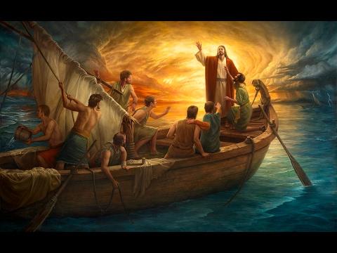 Resultado de imagen de jesus calma la tempestad