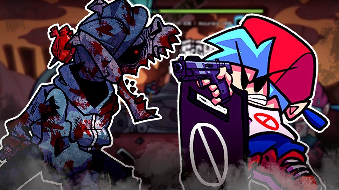 [FNF] 좀비 타비 모드 【 Friday Night Funkin' Zombie TABI Mod  】