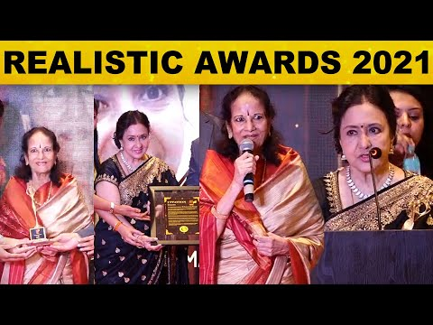 "The ""Realistic Awards 2021"" | Rajwada Pakwan | Chennai | SPICA | Nirmala | Abirami | Lakshmi IPS"