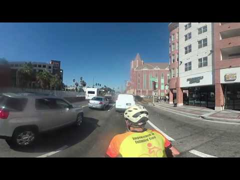 Savvy Cycling from Downtown Los Angeles to Playa Vista (Westside)