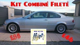 KIT COMBINE FILETE BMW E36/E46 [UNBOXING] BY EUROPETUNING.FR