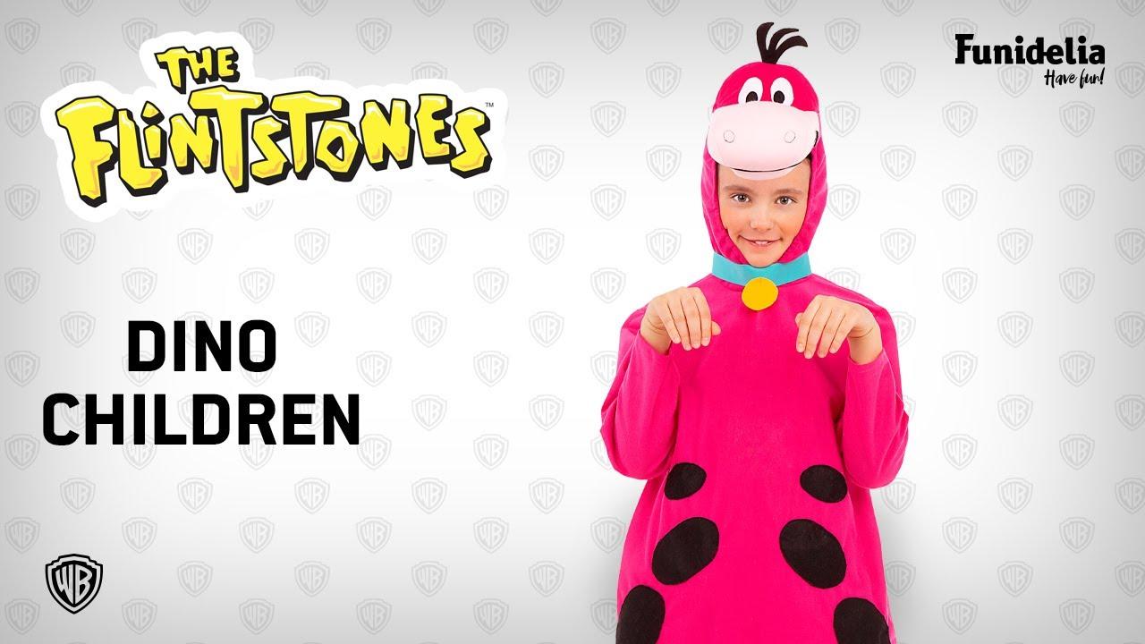 Funidelia dino costume for kids - the flintstones. costumefunidelia - officially  licensed warner bros