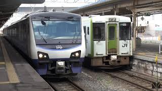 HB-E300系快速リゾートしらかみ 青森発車