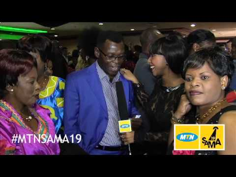 MTN SAMA19 Y'ELLO CARPET SATURDAY -- Thomas Chauke Interview
