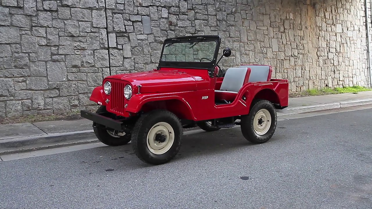 Willys Jeep For Sale >> 1959 Restored Willys Jeep Cj5 For Sale