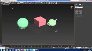 3ds Max с нуля. Урок для начинающих - выделение объектов в 3ds Max 2014