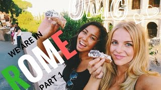 Repeat youtube video EUROTRIP TRAVEL VLOG- ROME, ITALY Pt.I - Did the Police take Jade's money?