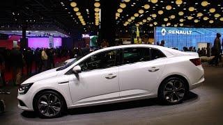 New Renault Megane sedan: новое поколение обзор Автопанорама