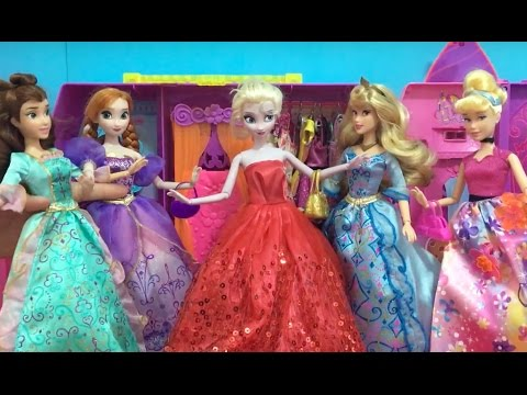 Best Frozen, Disney Princess & Barbie Doll videos! Elsa Anna Snow White Cinderella Rapunzel +More