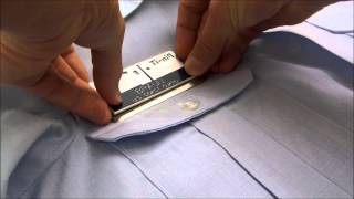 How to use Pin-iT Card with your Name Tag on a Military uniform. http://pinitcard.com