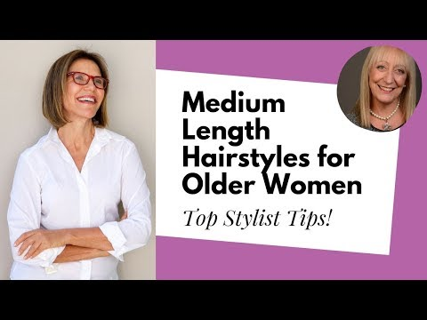 Exploring the Best Medium Length Hairstyles for Older Women
