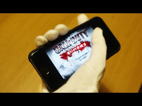 CALL OF DUTY ZOMBIES ON IPHONE 6S CHALLENGE!