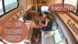 Solo Female Van Life: Living On The Road FullTime (Again)!