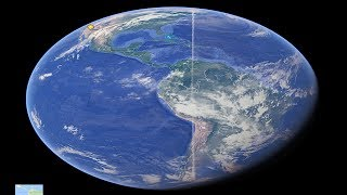 Strange trail in the sky extends entire length of the Earth! - Website Updates / mrmbb333.com