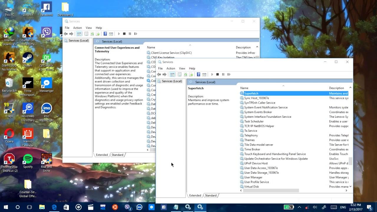 windows 10 100 disk usage fix 2017