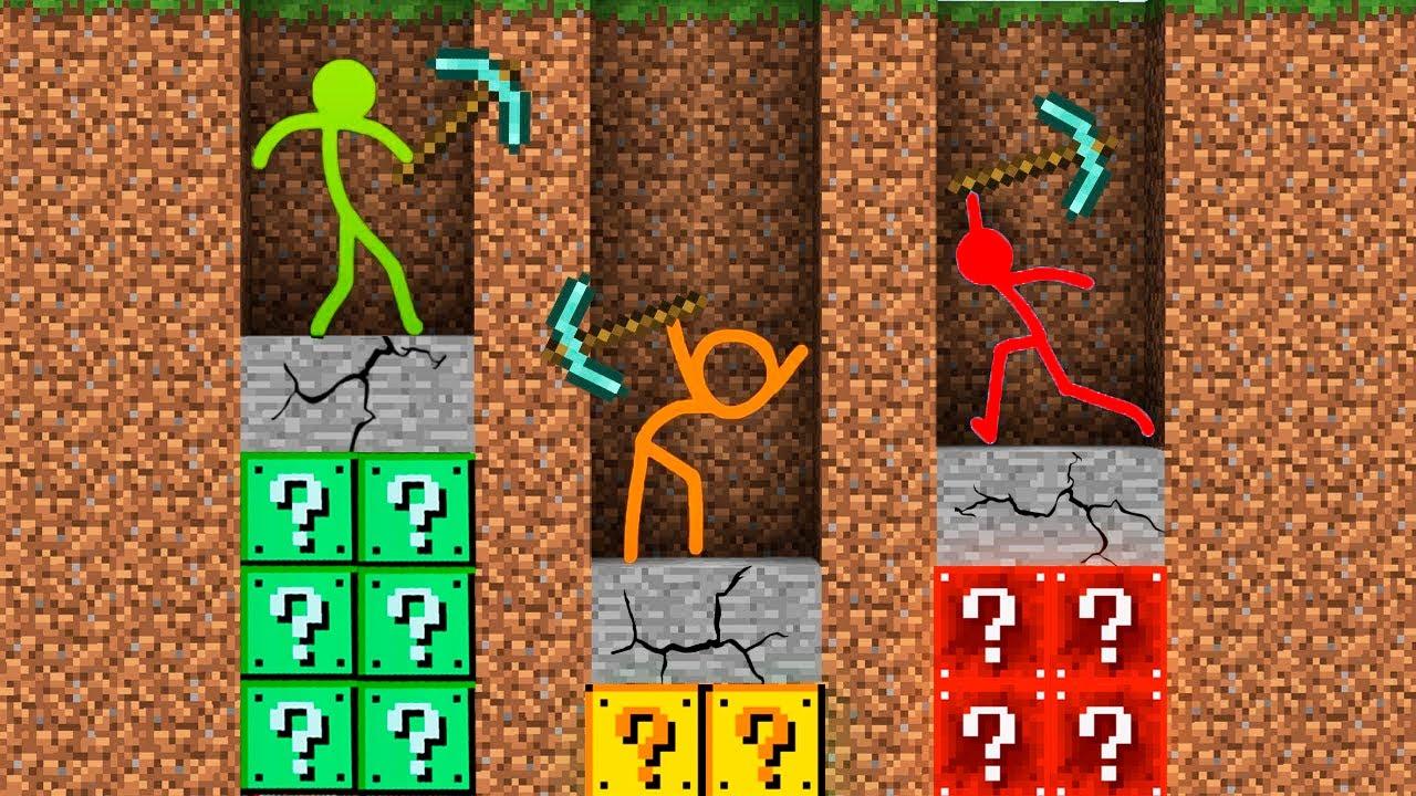 Alan Becker Stickman vs Minecraft AVM Shorts 20 Animator vs Animation vs. Minecraft Shorts