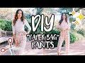 DIY PAPER BAG PANTS  |  For Beginners