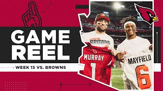 Kyler Murray & Cardinals Win Showdown vs. Baker Mayfield & Browns | Arizona Cardinals