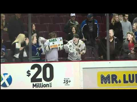 3 years ago, Kari Lehtonen hit me in the face with a puck