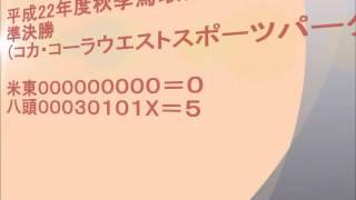 2010年秋 米子東-八頭(試合後)