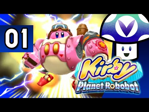 Vinesauce Vinny  Kirby: Planet Robobot part 1