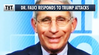 Dr. Fauci Reacts To Trump's BIZARRE Twitter Attacks