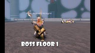 How to get to BOSS Room Floor 1 | SWORDBURST 2 | ROBLOX INDONESIA