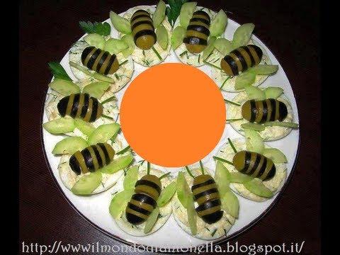 Tartine con le api ricetta sfiziosa semplice e veloce for Immagini api per bambini