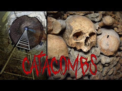 ABANDONED PARIS CATACOMBS (ILLEGAL ENTRANCE)