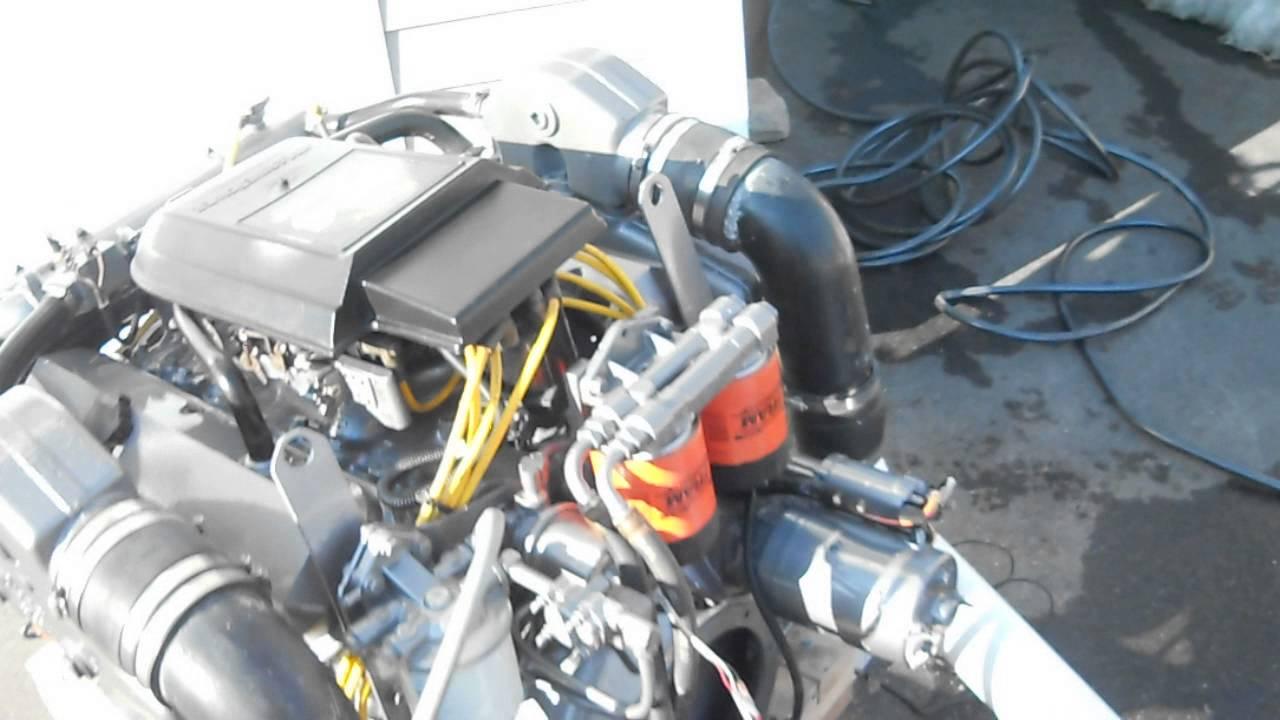 Marine Power 454 Running Engine Youtube