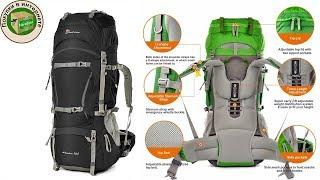 Обзор бюджетного туристического рюкзака Mountain top 70l с алиэкспресс