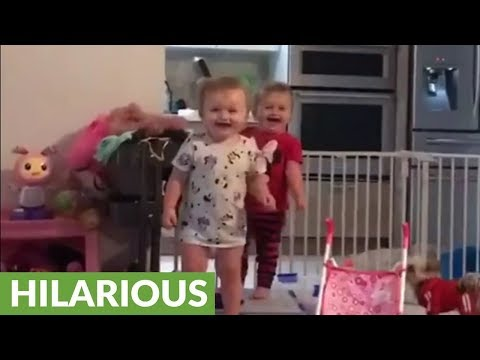 Joey Brooks - Twin Toddlers Shrieking In Harmony