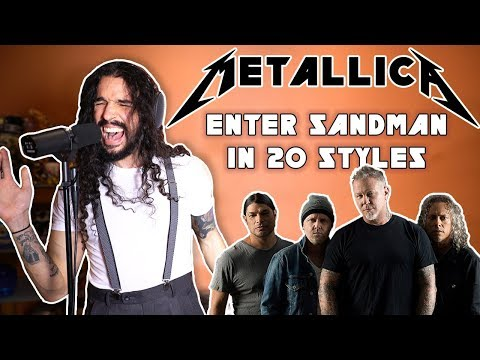Frank the Tank - AMAZING: Metallica's Enter Sandman Done in 20 Styles